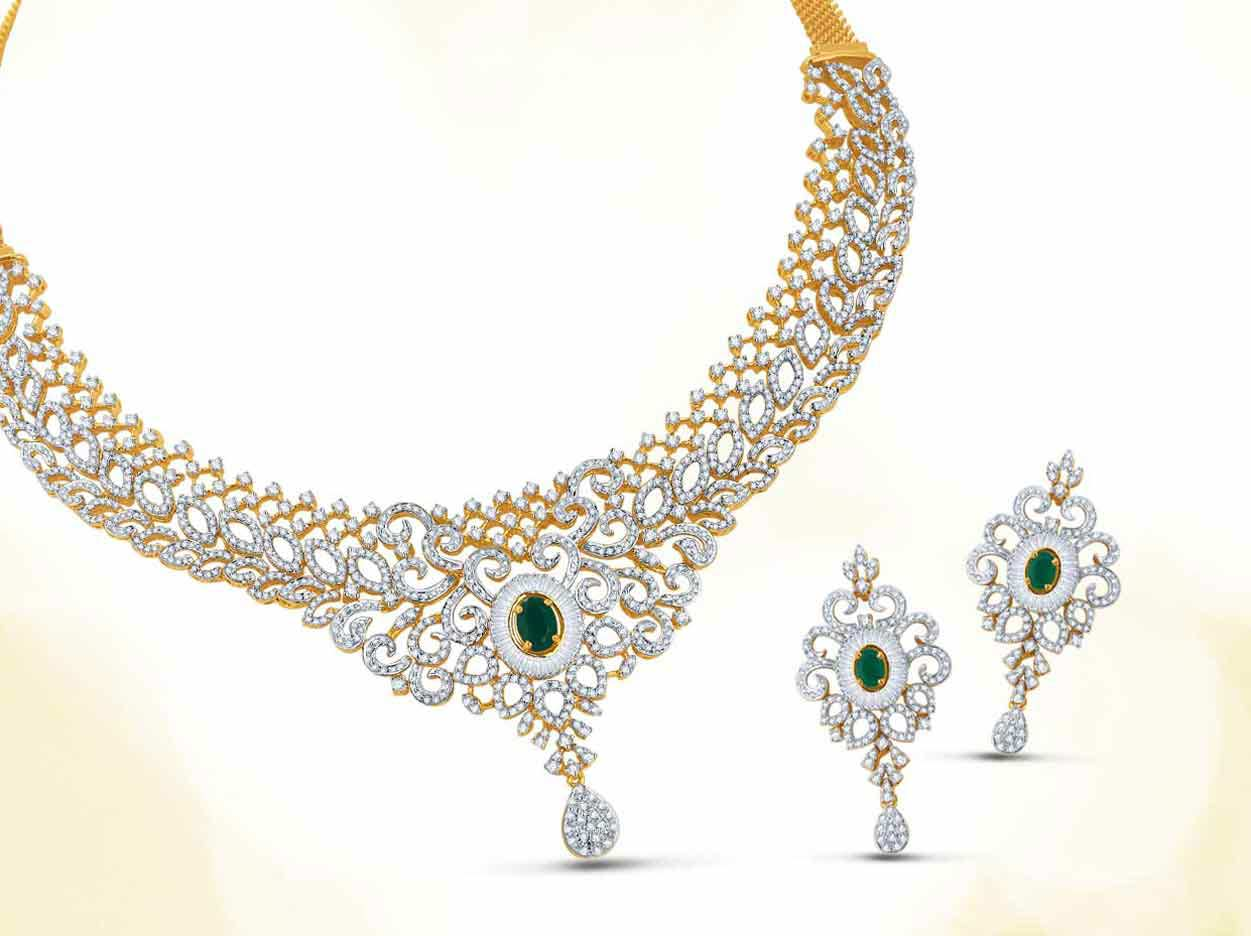 jewellery manufacturers kiranjewels kiran jewels necklace diamond designer indian johar mumbai